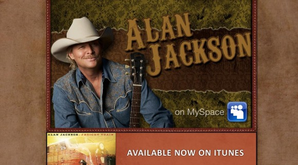 Alan Jackson MySpace