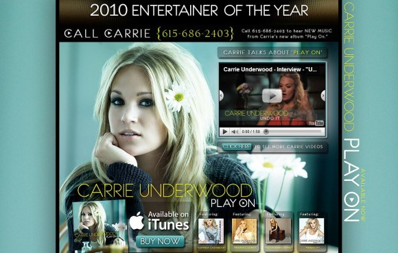 Carrie Underwood MySpace