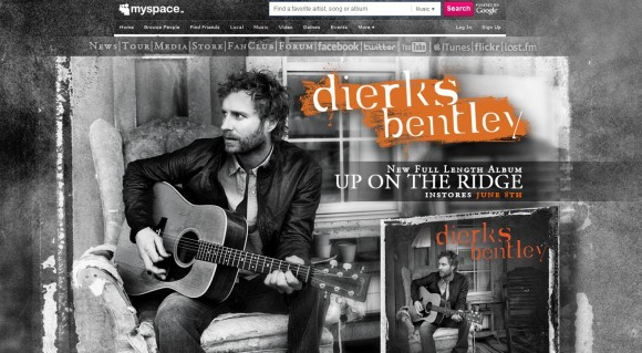 Dierks Bentley MySpace