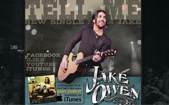 Jake Owen MySpace