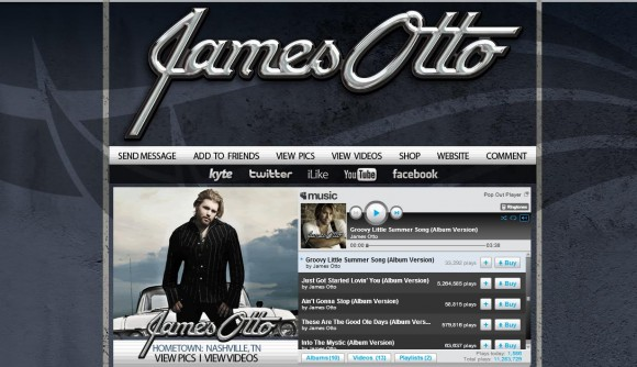James Otto MySpace