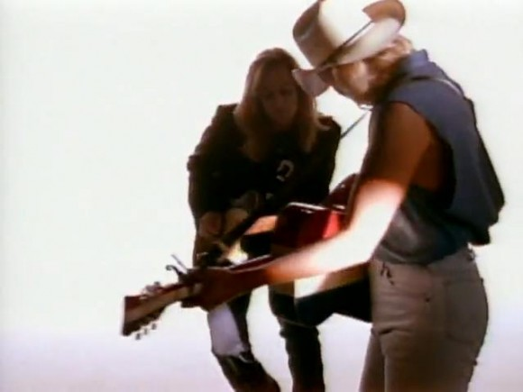 Keith Urban in Alan Jackson Mercury Blues Video
