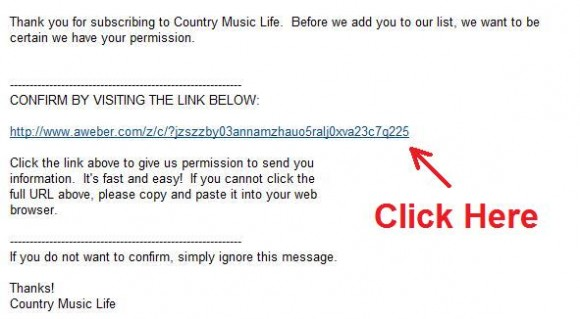 Country Music Life Confirm