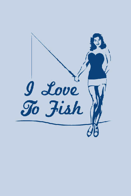 I Love To Fish Shirt
