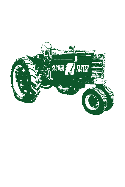 Big Green Tractor Shirt