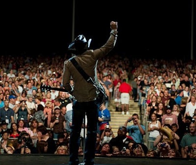 Tim McGraw on Stage